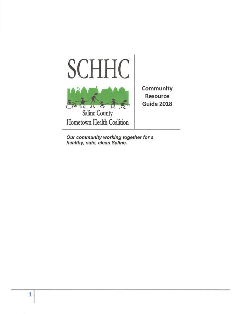 RESOURCE GUIDE FOR SALINE COUNTY | Saline County Arkansas